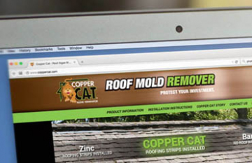 Copper Cat Roofing Solutions - design display promotional