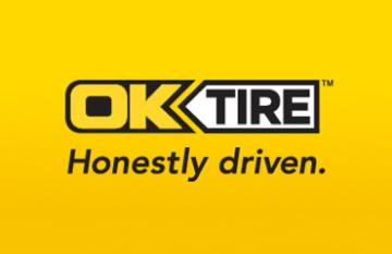 OK Tire - digital design display promotional