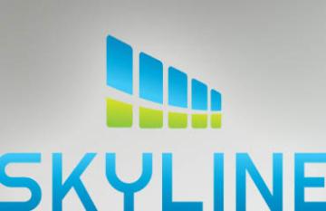 Skyline Dental Clinic - logo branding design display web
