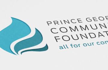 Prince George Community Foundation - branding design web
