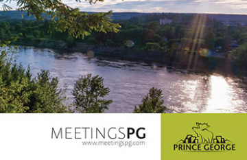 Tourism Prince George - branding design promotional
