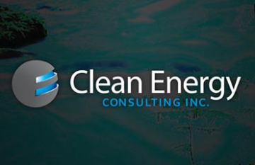 Clean Energy Consulting - branding promotional web