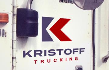 Kristoff Trucking - branding web featured
