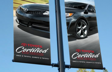 Prince George Toyota - display promotional