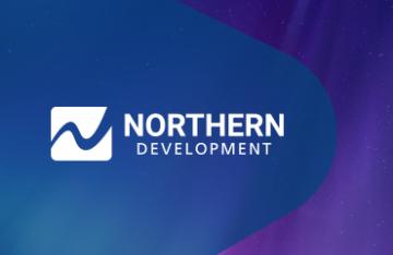 Northern Development Initiative Trust - digital branding design display featured