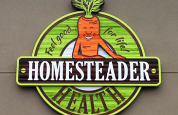 Homesteader Health - branding design display featured